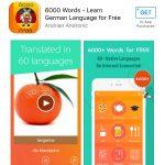 6000 words Learn german