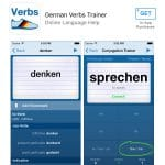 German Verbs Trainer