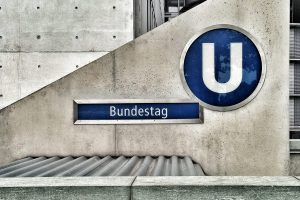German U-Bahn station