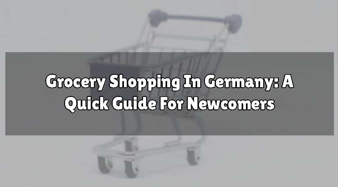 Grocery Shopping In Germany: A Quick Guide For Newcomers