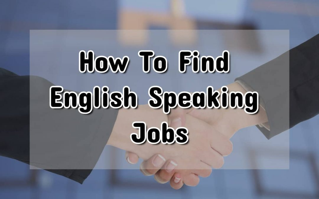 English Speaking Jobs In Germany: How & Where To Find Them