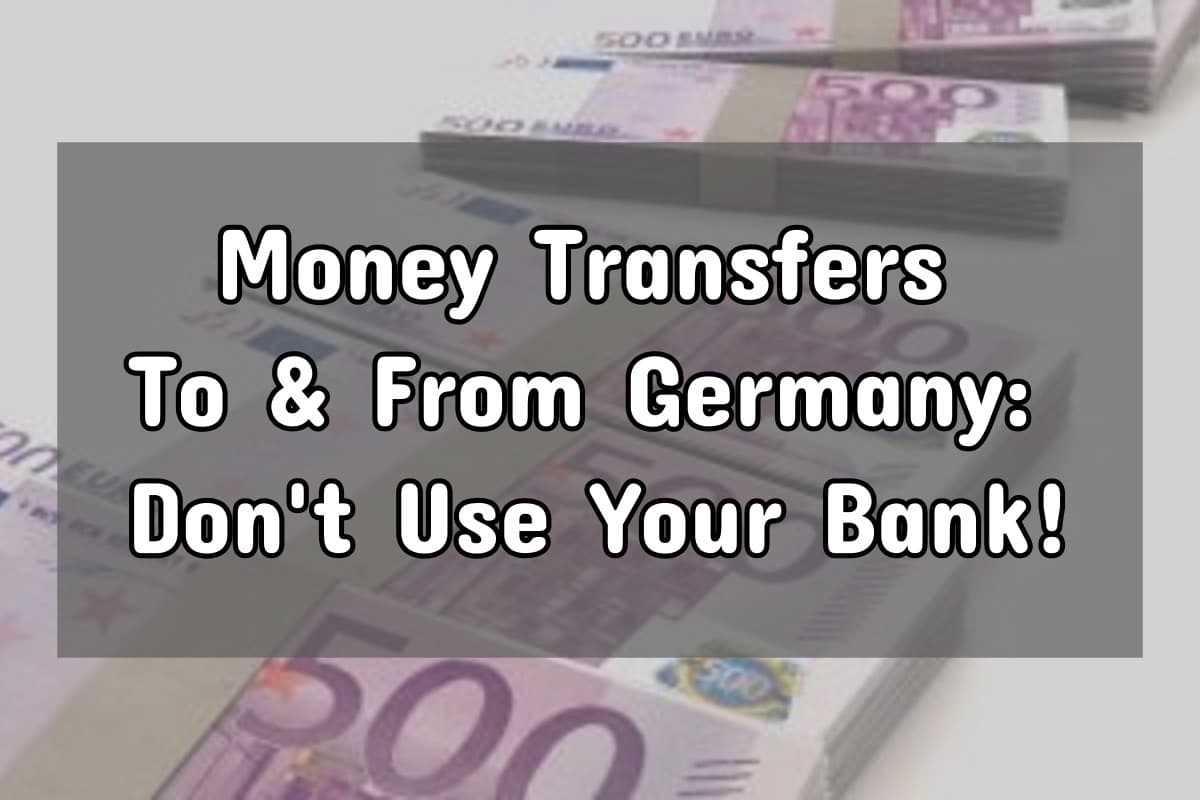 Transfer Money To Germany
