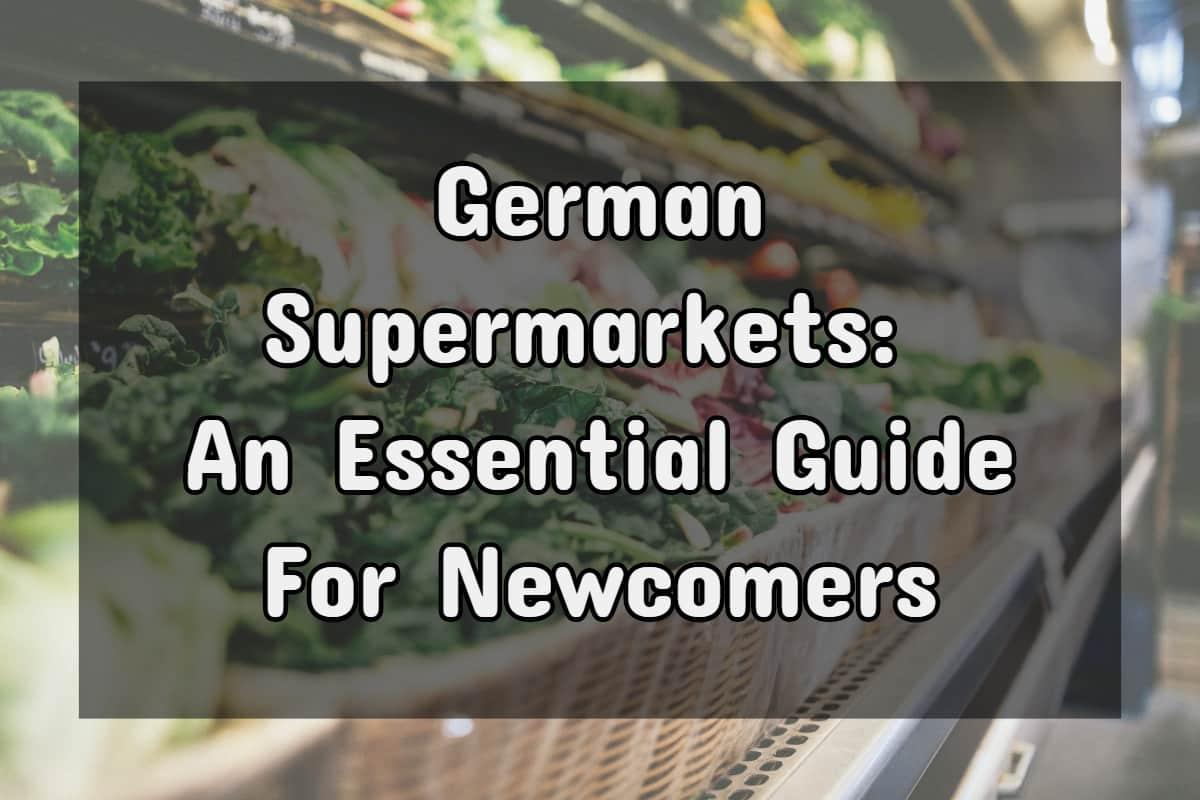 German supermarkets