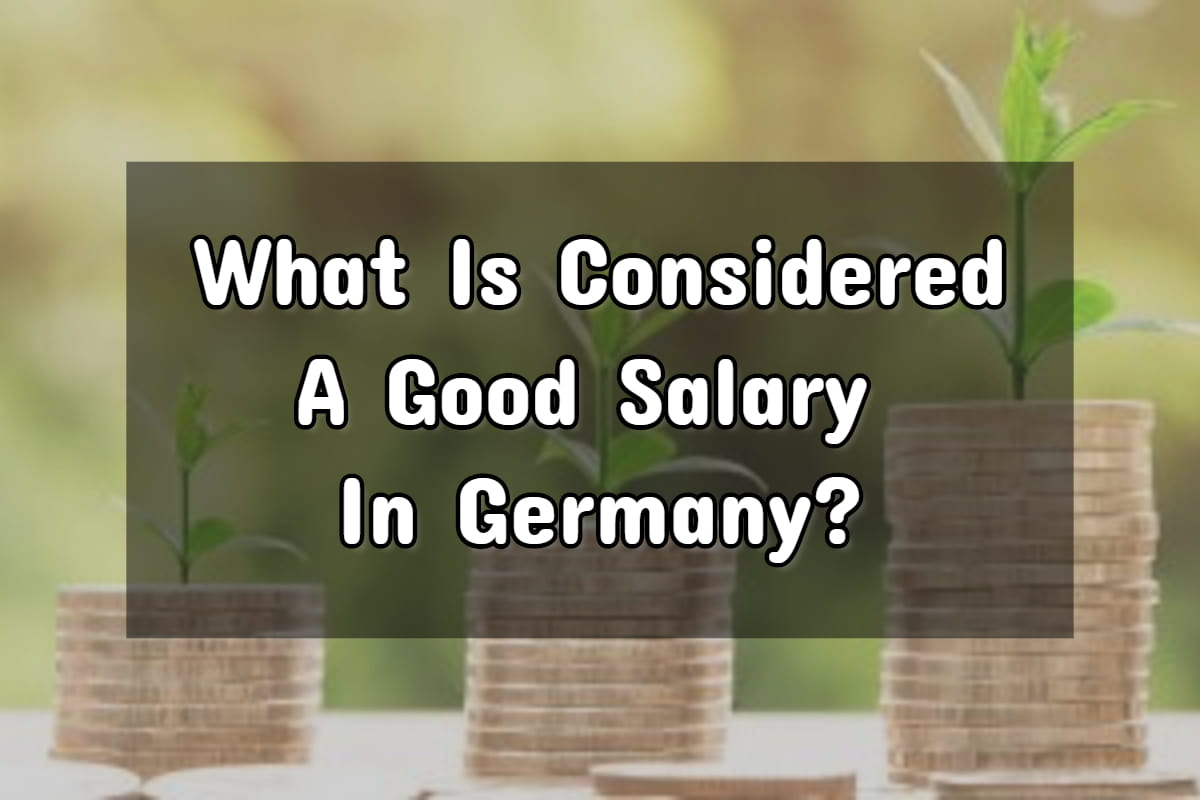 good salary in Germany