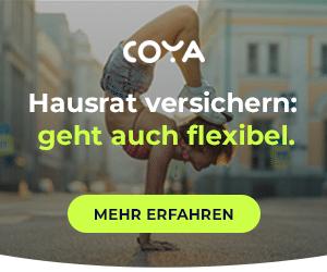 Flexibel Hausratversicherung bei Coya