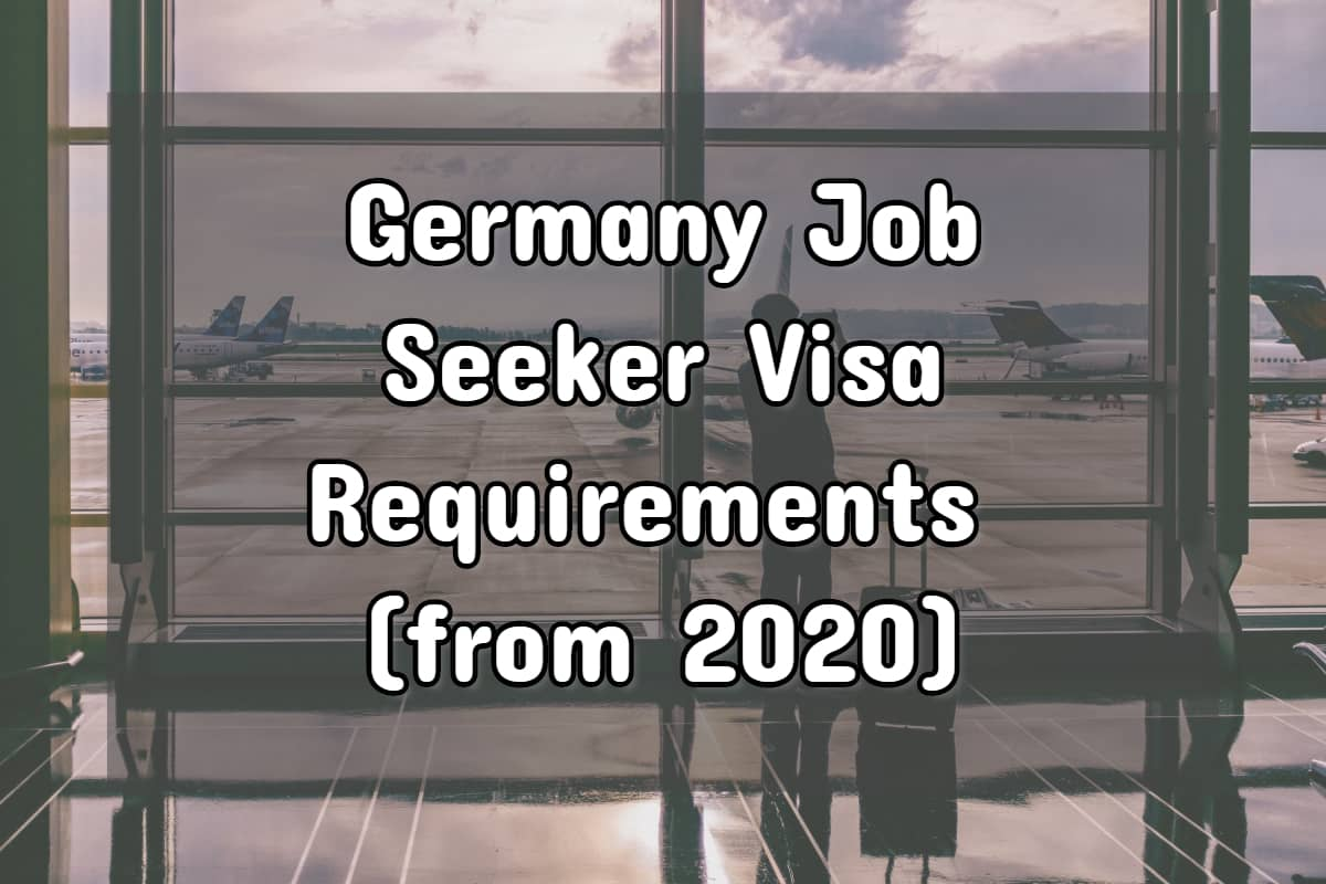 German job seeker visa
