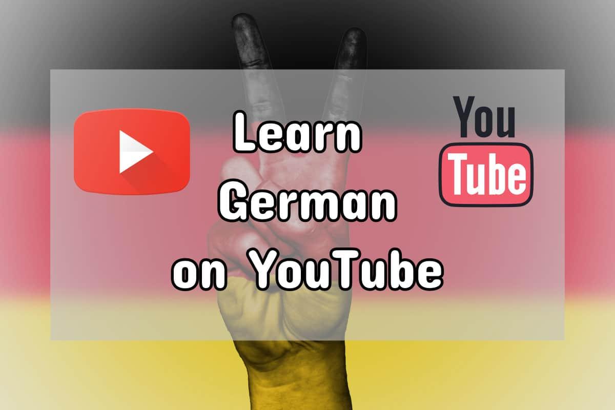 learn german on youtube